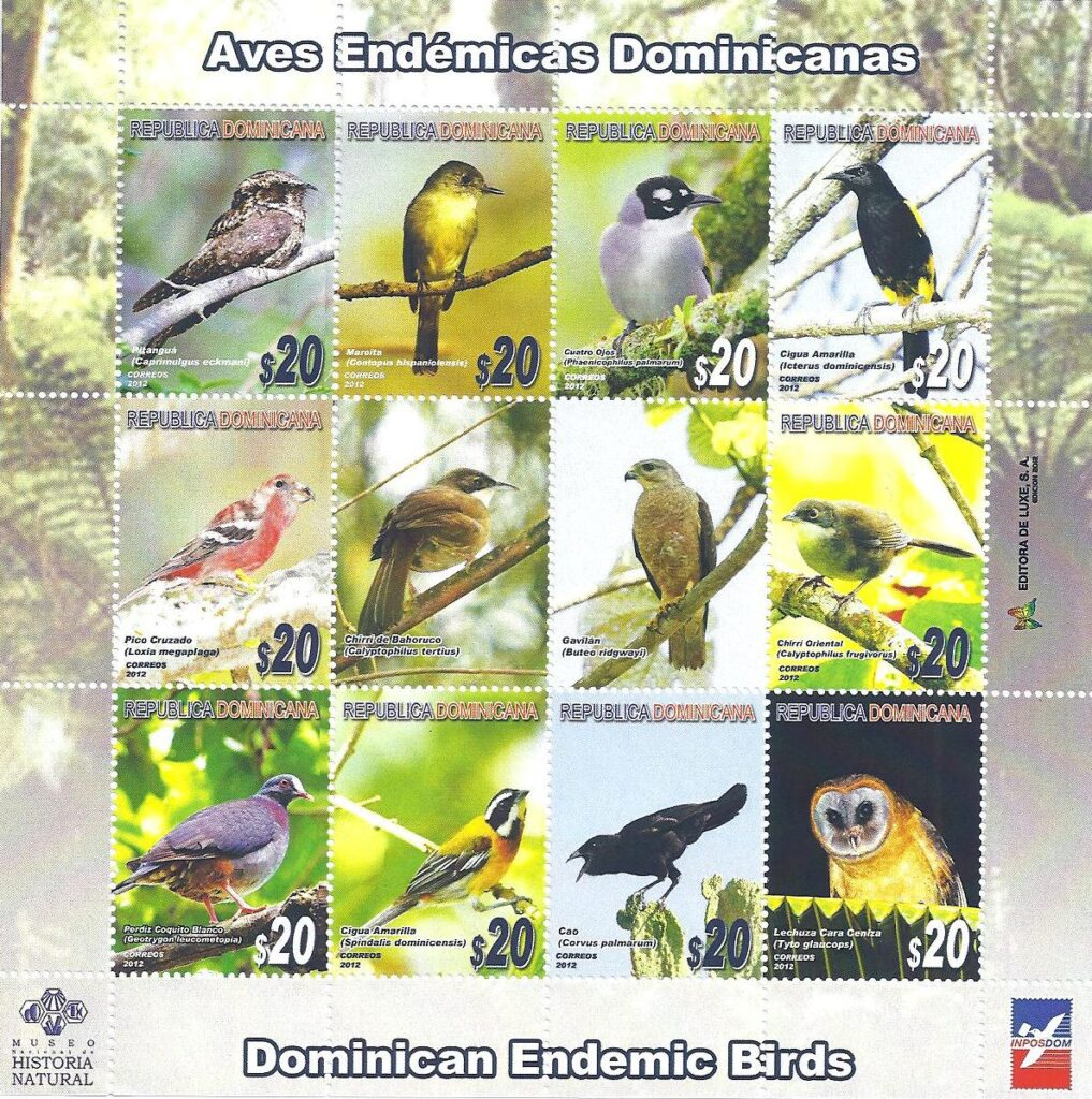 Aves Endémicas