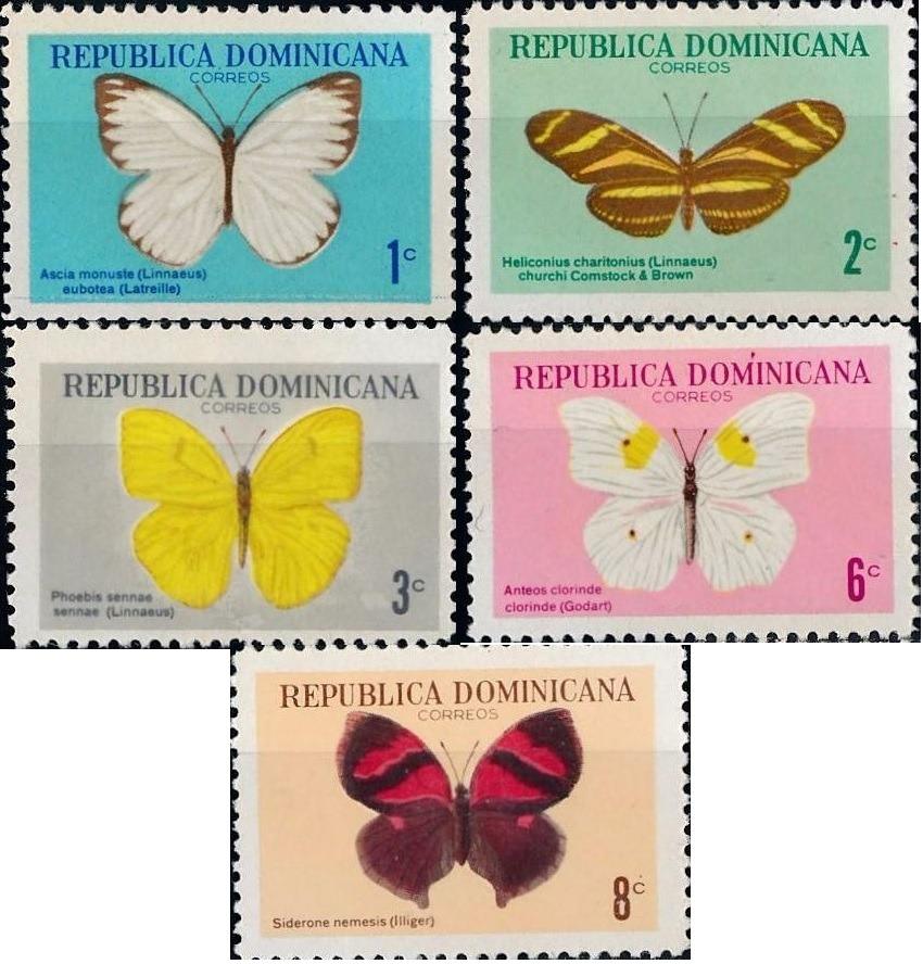 mariposas 1966