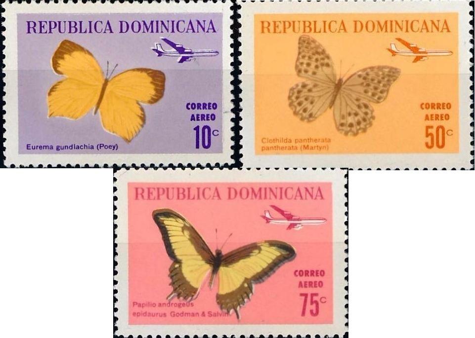 mariposas correo aereo 1966