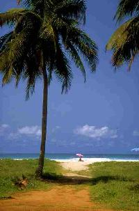 Playa en Costa de Marfil
