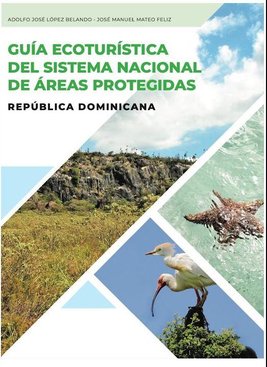 """portada libro """"Guía Ecoturística del Sistema Nacional de Áreas Protegidas - República Dominicana"""""""