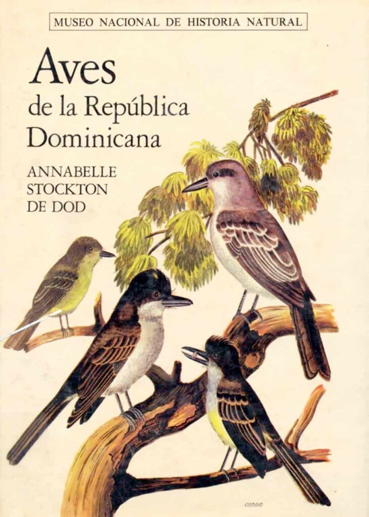 Caratula libro Aves de la Republica Dominicana